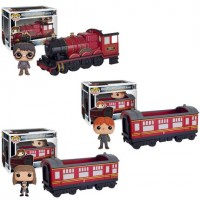 Kit Expresso Hogwarts - 3 Funko Pop Rides com Harry, Hermione e Ron