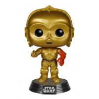 Boneco C-3PO - Star Wars - O Despertar da Força - Funko Pop!