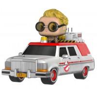 Boneco Ecto-1 e Jillian Holtzmann - Caça Fantasmas - Funko Pop! Rides