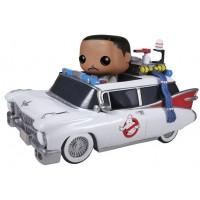 Boneco Ecto-1 e Zeddemore - Caça Fantasmas - Funko Pop! Rides