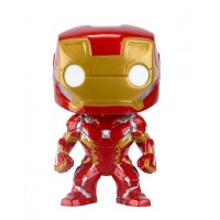 Boneco Iron Man - Guerra Civil - Marvel - Funko Pop!
