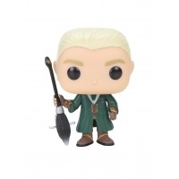 Boneco Draco Malfoy Quadribol Exclusivo Hot Topic - Harry Potter - Funko Pop!