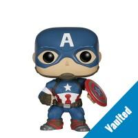 Boneco Capitão América - Os Vingadores A Era de Ultron - Marvel - Funko Pop! Vaulted