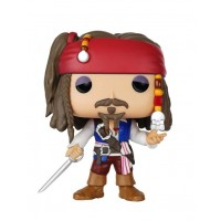 Boneco Jack Sparrow  - Piratas do Caribe - Funko Pop!