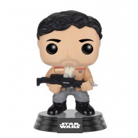 Boneco Poe Dameron Exclusivo Hot Topic - Star Wars - O Despertar da Força - Funko Pop!