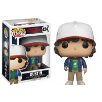Funko Pop Dustin - Stranger Things #424 com caixa