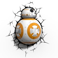 Luminária 3D Light FX BB-8 - Star Wars