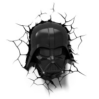 Luminária 3D Light FX Darth Vader Helmet - Star Wars