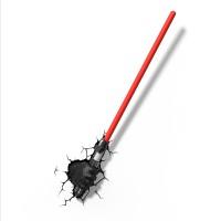Luminária 3D Light FX Darth Vader Sabre - Star Wars