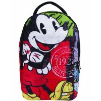 Mochila G Mickey Overprint Colorida Dermiwil - 30149
