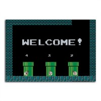 Porta Chaves Welcome! Mario Bros