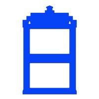 Porta Retrato de Parede Tardis