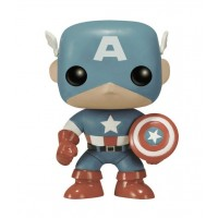 Boneco Capitão América - Sépia Exclusivo 75th  - Marvel - Funko Pop!