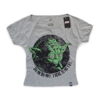 Camiseta Feminina Star Wars Yoda Do or Do Not - P
