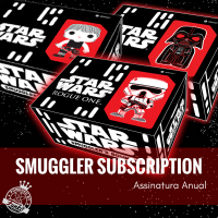 Assinatura Anual Star Wars Smuggler's Bounty Funko