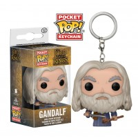Chaveiro Gandalf - O Senhor dos Anéis - Funko Pocket Pop!