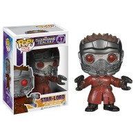 Boneco Star-Lord - Guardiões da Galáxia - Marvel - Funko Pop!