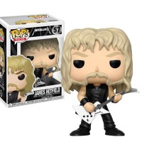 Funko Pop James Hetfield - Metallica Rocks #57