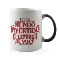 Caneca Magica Mundo Invertido Stranger Things