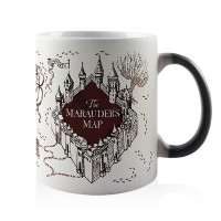 Caneca Magica Mapa do Maroto Harry Potter