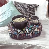Almofada Porta Pipoca - Cinema Geek - decoracao nerd