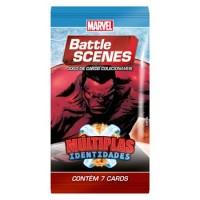 Battle Scenes Booster Hulk Vermelho - BS 4 Múltiplas Identidades