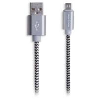Cabo Micro USB ultra resistente1,5M Preto Multilaser Concept
