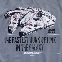 Camiseta Millennium Falcon Star Wars - M