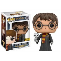 Boneco Harry Potter e Edwiges - Exclusivo Hot Topic - Funko Pop!