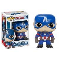 Boneco Capitão América - Guerra Civil - Marvel - Funko Pop!