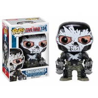 Boneco Crossbones - Guerra Civil - Marvel - Funko Pop!