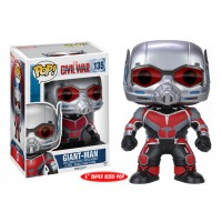 "Boneco Homem Formiga Gigante 6"" - Guerra Civil - Marvel - Funko Pop!"