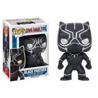 Boneco Pantera Negra - Guerra Civil - Marvel - Funko Pop!