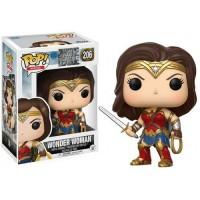 Funko Pop Mulher Maravilha - Liga da Justica DC #206 - Geek Wish - com caixa