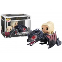 Boneco Daenerys & Drogon - Game of Thrones - Funko Pop! Rides