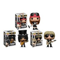 Set de Bonecos Guns n Roses - Funko Pop!