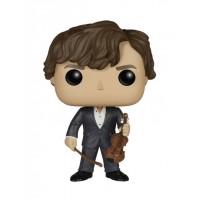 Funko Pop Sherlock Holmes com Violino - Série Sherlock #289