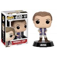 Boneco General Leia - Star Wars - O Despertar da Força - Funko Pop!