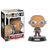 Boneco Maz Kanata - Star Wars - O Despertar da Força - Funko Pop!