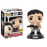 Boneco Poe Dameron Exclusivo Hot Topic - Star Wars - O Despertar da Força - Funko Pop!