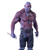 Estátua Drax Guardiões da Galaxia Art Scale 1/10 Iron Studios