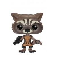 Boneco Rocket Racoon - Guardiões da Galáxia - Marvel - Funko Pop!