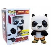 Boneco Po Flocked - Kung Fu Panda - Funko Pop!