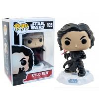Boneco Kylo Ren sem Máscara - Star Wars - O Despertar da Força - Funko Pop!