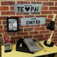 Placa Decorativa Poderoso Chefão
