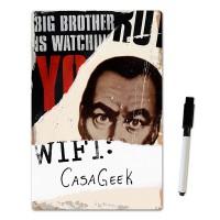 Placa para senha do Wifi Big Brother Livro 1984