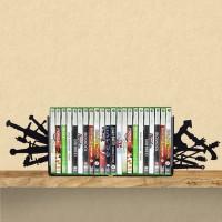 Porta Livros / Games Geek Armas Medievais