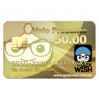 Vale Presente R$ 50,00