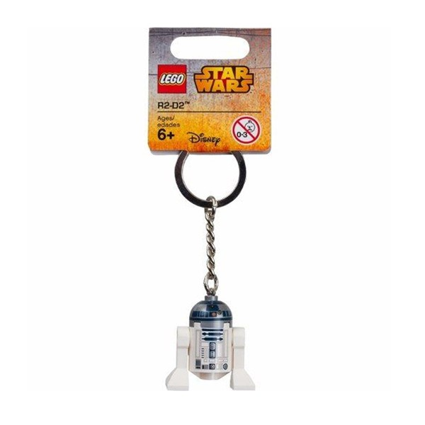 Chaveiro Lego R2-D2 - Star Wars 853470 - Geek Wish