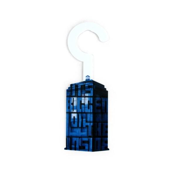 Aviso de Porta TARDIS - Doctor Who